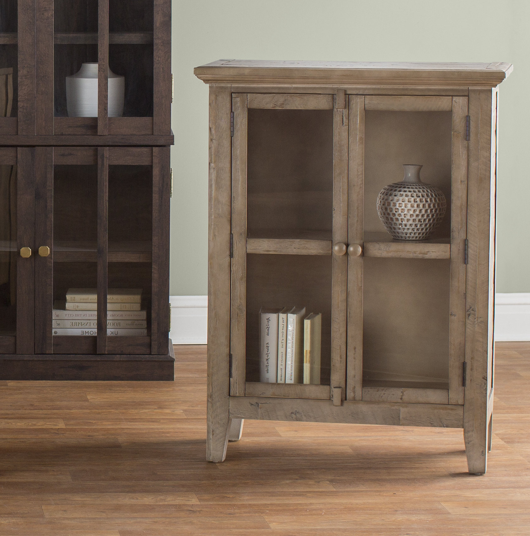 Eau Claire 2 Door Accent Cabinet Pertaining To Eau Claire 6 Door Accent Cabinets (View 10 of 20)