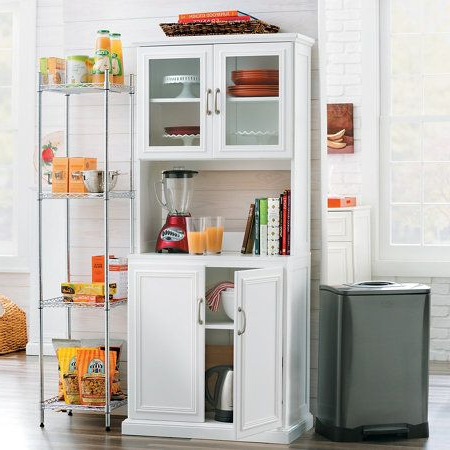 Eduarda Kitchen Pantry Throughout Well Liked Big On Storage, And Small On Space, This Tall Pantry Is (Gallery 14 of 20)
