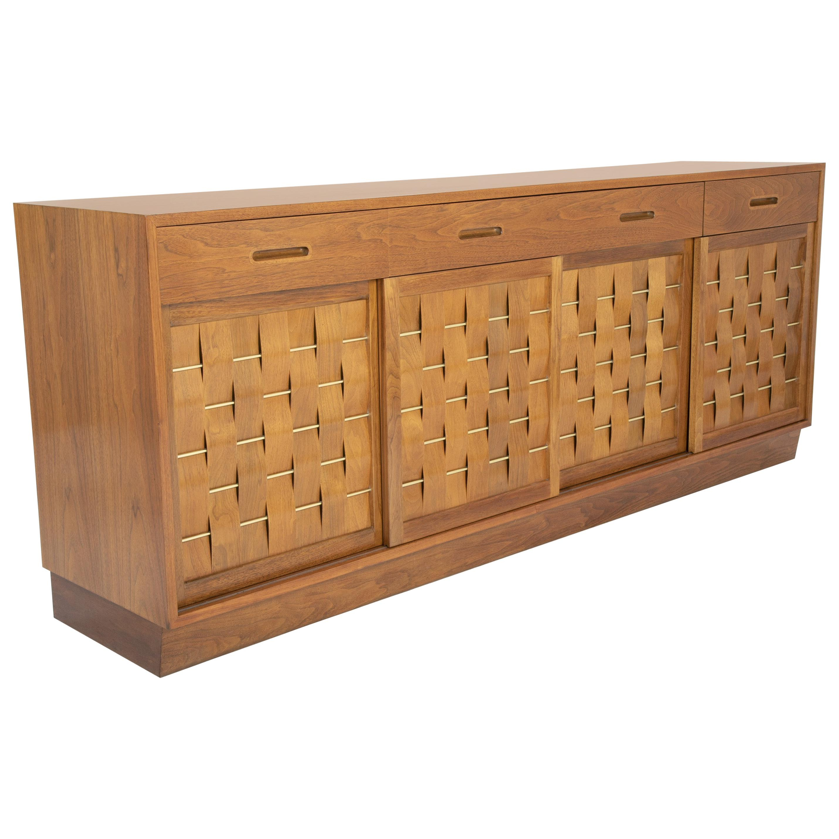 Edward Wormley Sideboards – 38 For Sale At 1Stdibs With Regard To Gertrude Sideboards (Gallery 5 of 20)