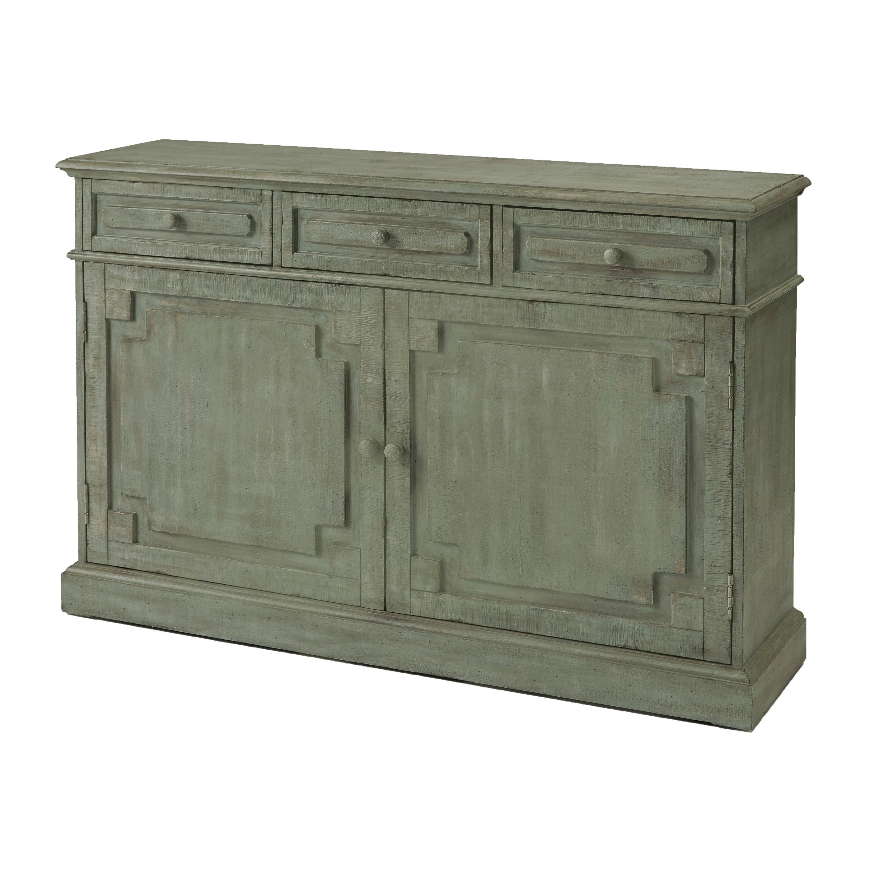 Eliza Credenza Antique Eucalyptus Accent Cabinet In Elyza Credenzas (Gallery 8 of 20)