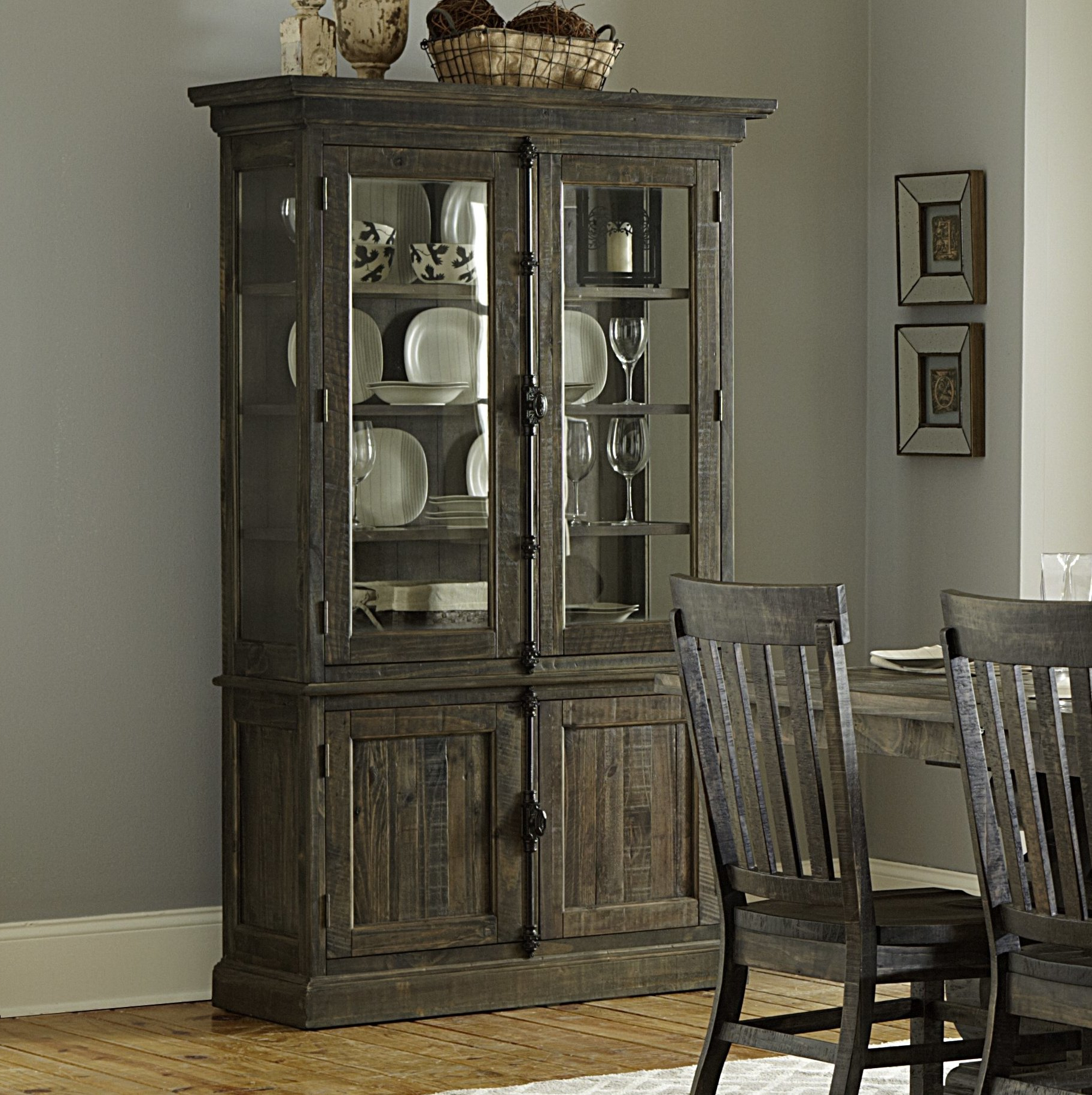 Ellenton China Cabinet Intended For Filkins Sideboards (View 5 of 20)