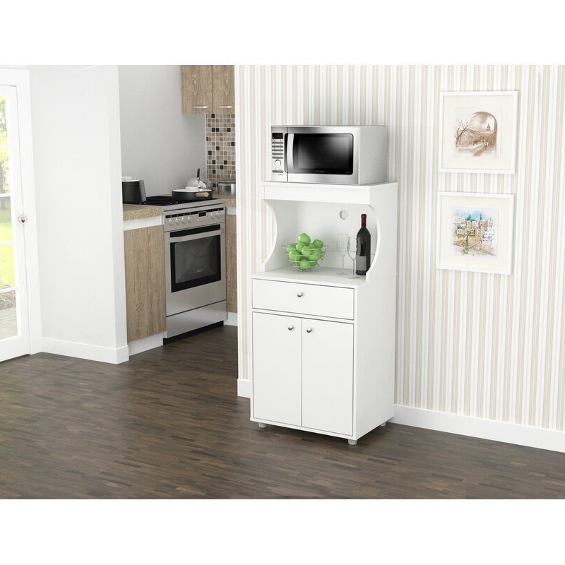 """Elliana Storage Kitchen Pantry Intended For Favorite Elliana Storage 50"""" Kitchen Pantry (Gallery 3 of 20)"""