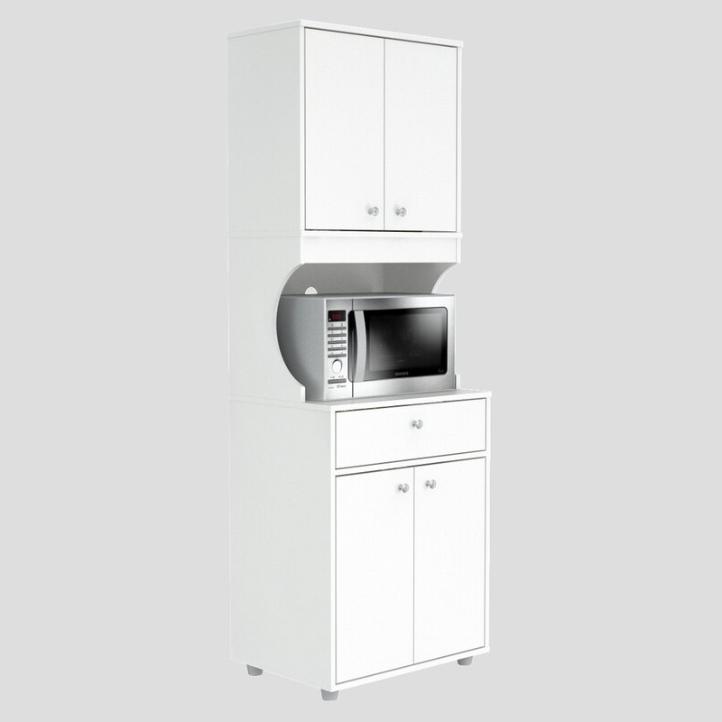"""Elliana Storage Kitchen Pantry Throughout Most Recently Released Elliana Storage 71"""" Kitchen Pantry (Gallery 6 of 20)"""