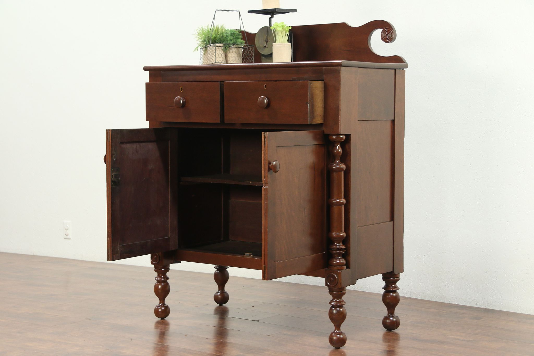 Empire 1825 Antique Cherry Sideboard Or Server #28938 With Cher Sideboards (View 16 of 20)