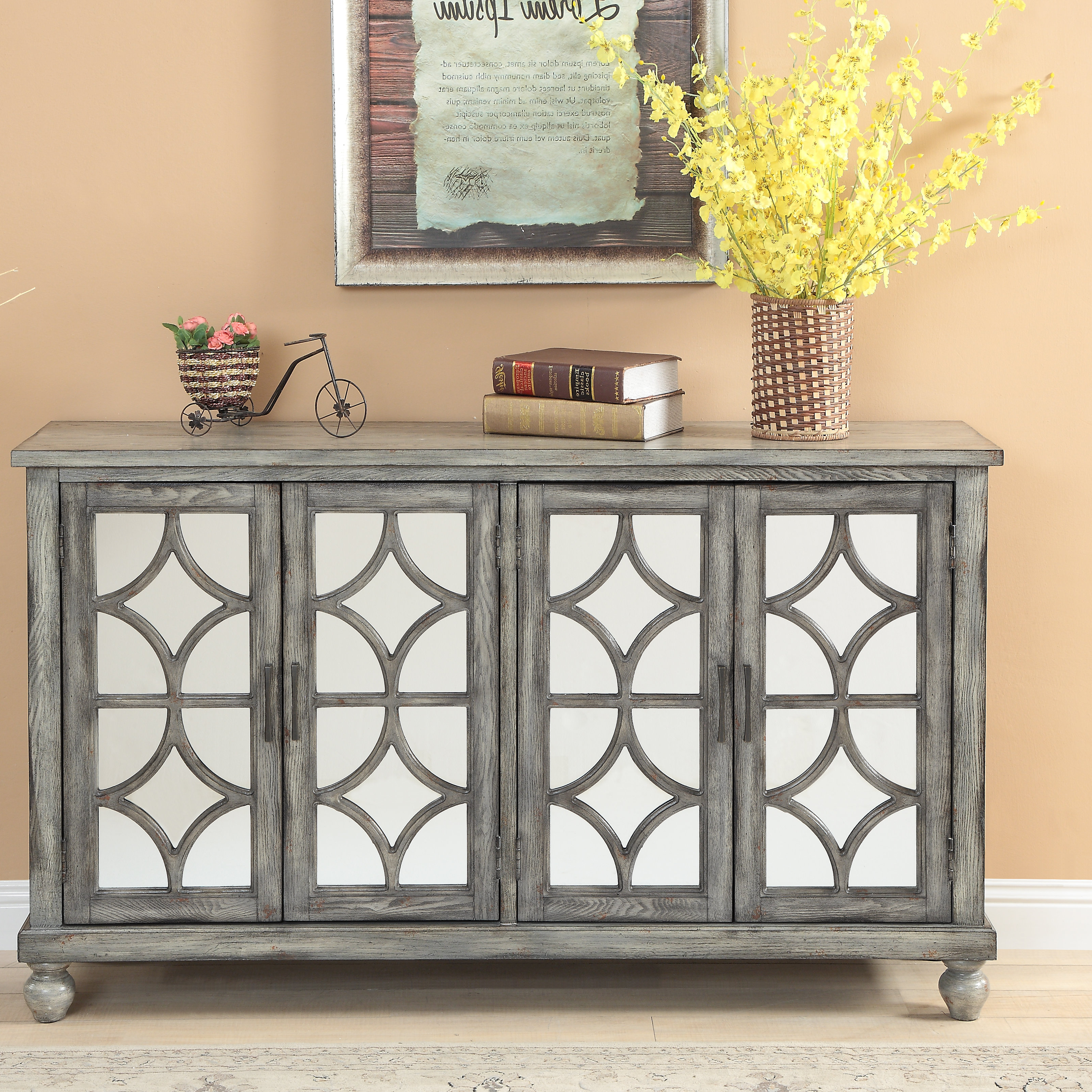 Extra Large Credenza | Wayfair For Barr Credenzas (Gallery 8 of 20)