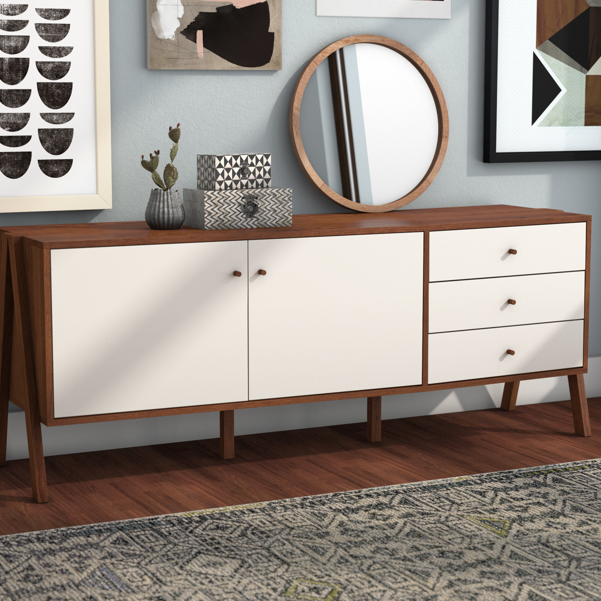 Extra Large Credenza | Wayfair With Barr Credenzas (View 17 of 20)