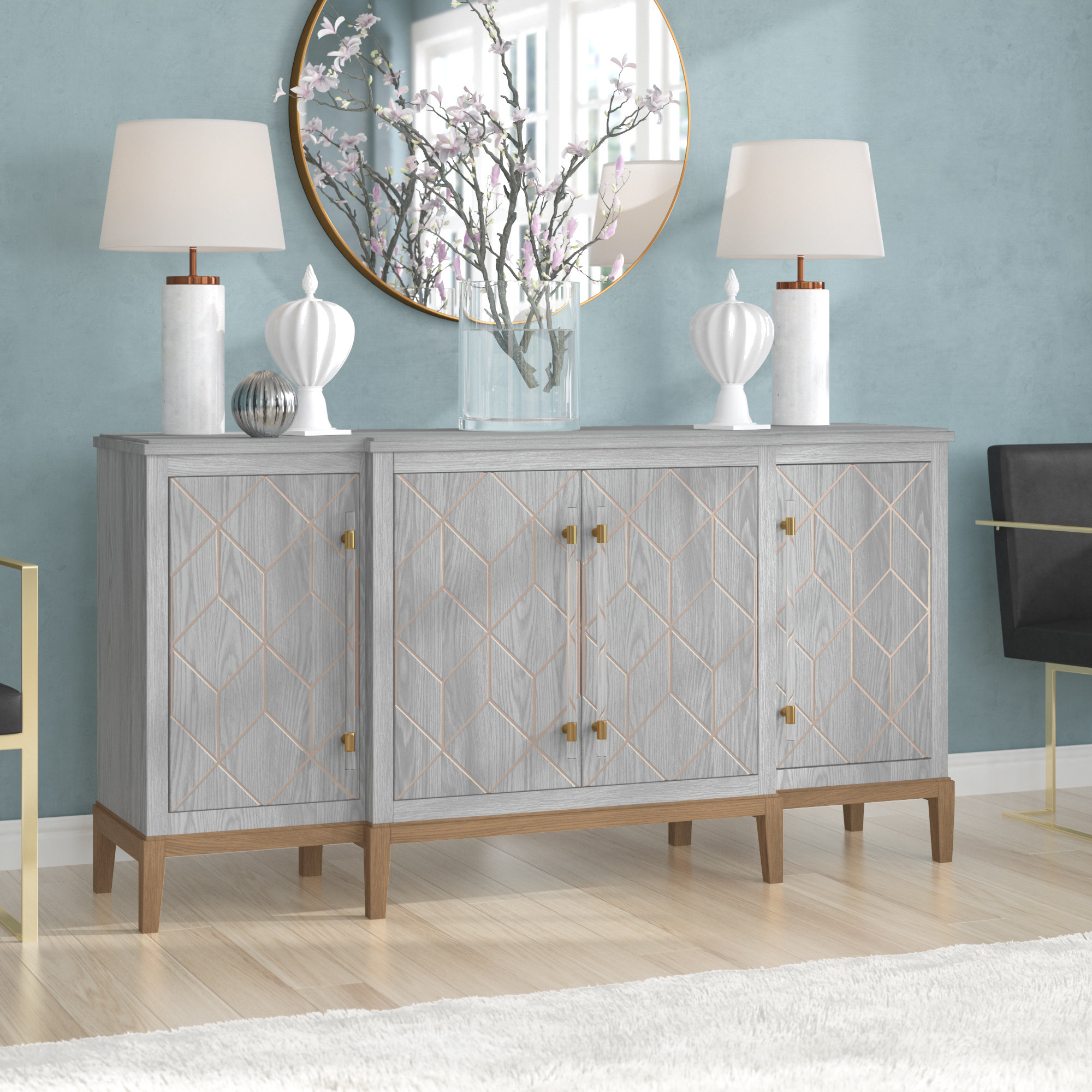Extra Large Credenza | Wayfair Within Barr Credenzas (View 15 of 20)