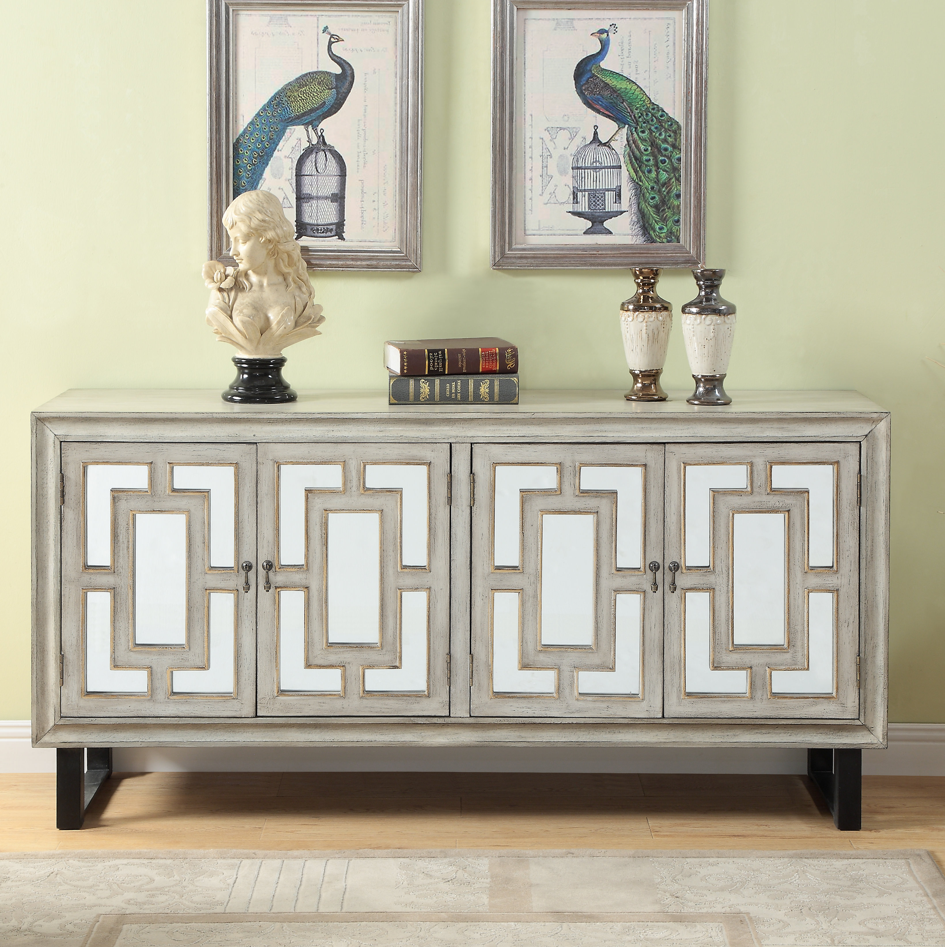 Extra Large Credenza | Wayfair Within Barr Credenzas (View 2 of 20)