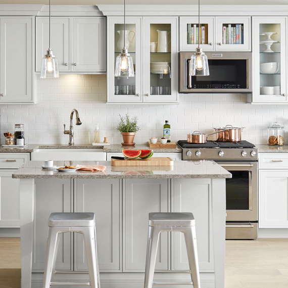 Famous Emblyn Kitchen Pantry With New Bargains On Emblyn Kitchen Island (View 9 of 20)