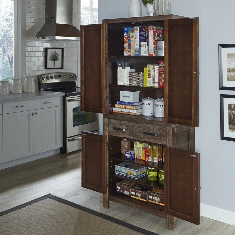 """Famous Hollo 72"""" Kitchen Pantry With Hollo Kitchen Pantry (View 3 of 20)"""