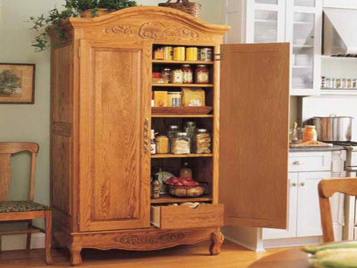 Famous Nickolas Kitchen Pantry With Regard To 15 Freestanding Pantry Cabinet For Kitchen, Country Kitchen (View 16 of 20)