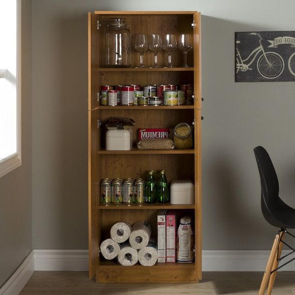 Famous Shop Wayfair For Food Pantries To Match Every Style And For Braithwaite Storage Kitchen Pantry (View 8 of 20)
