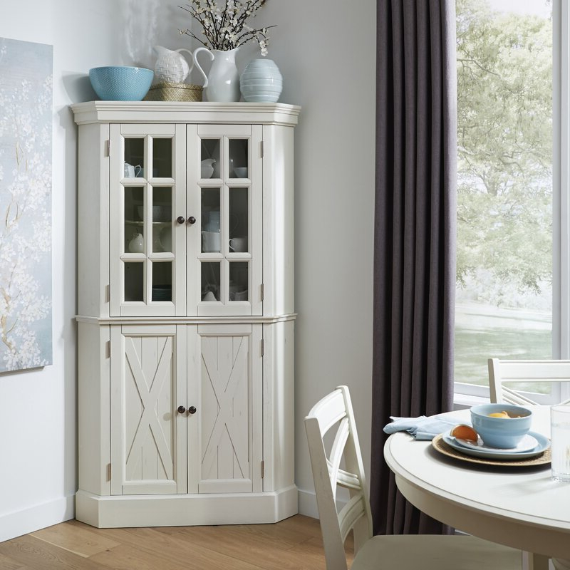 """Farmhouse Kitchen Pantry For Most Recent Moravia 72"""" Kitchen Pantry (View 14 of 20)"""