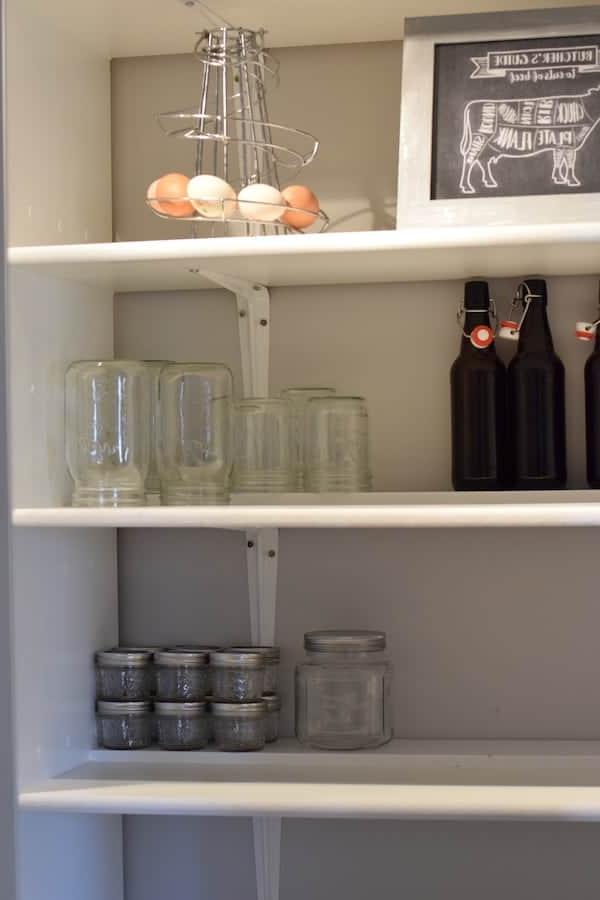 Farmhouse Kitchen Pantry Organization Ideas – Boots & Hooves For Widely Used Farmhouse Kitchen Pantry (View 13 of 20)