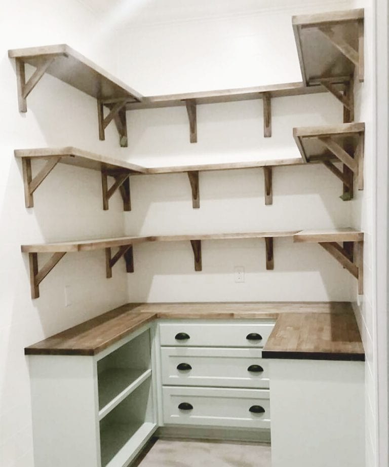 Farmhouse Kitchen Pantry Regarding Most Recent Modern Farmhouse Kitchen Design – Petite Modern Life (View 7 of 20)