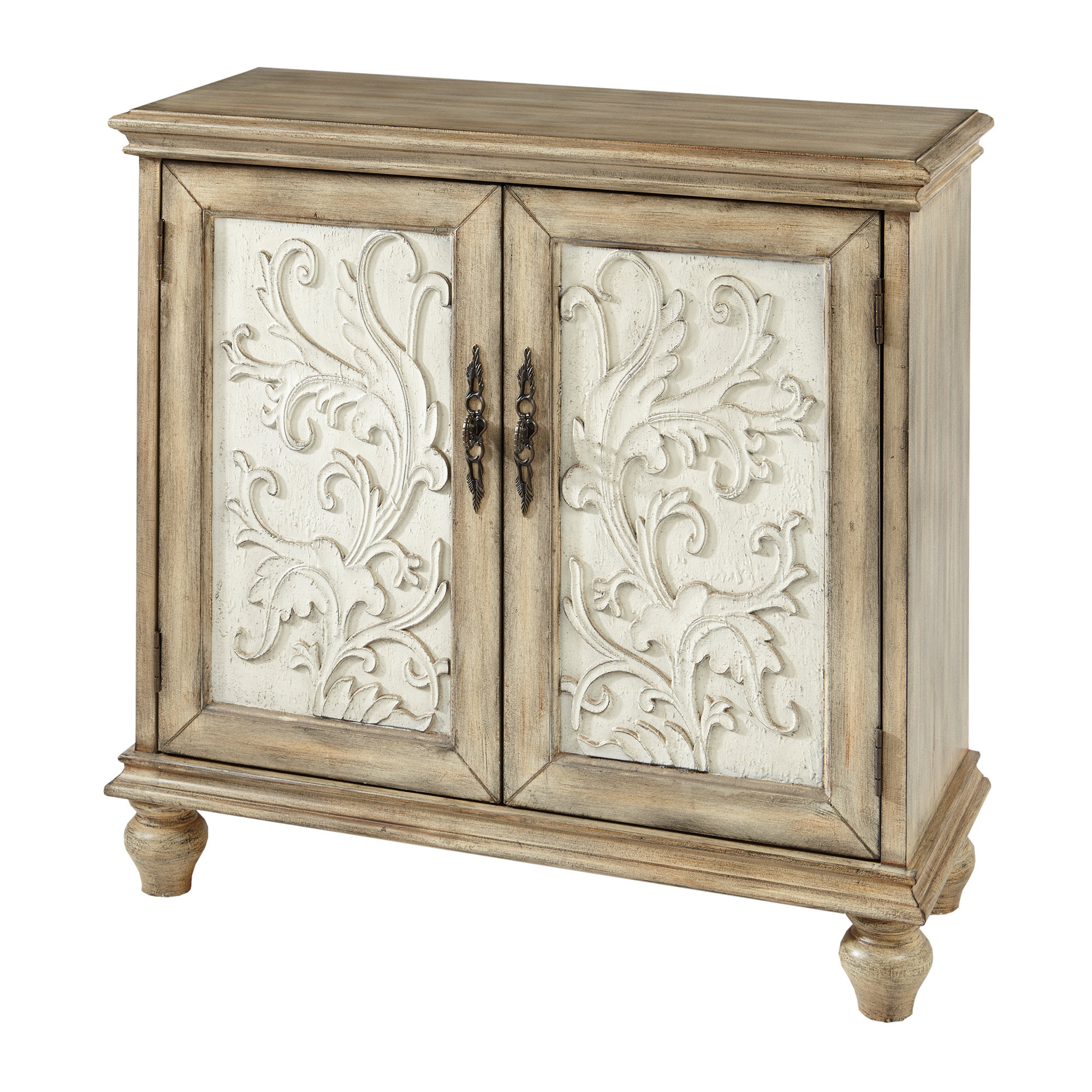 Farmhouse & Rustic Accent Chests & Cabinets | Birch Lane Regarding Eau Claire 6 Door Accent Cabinets (View 12 of 20)