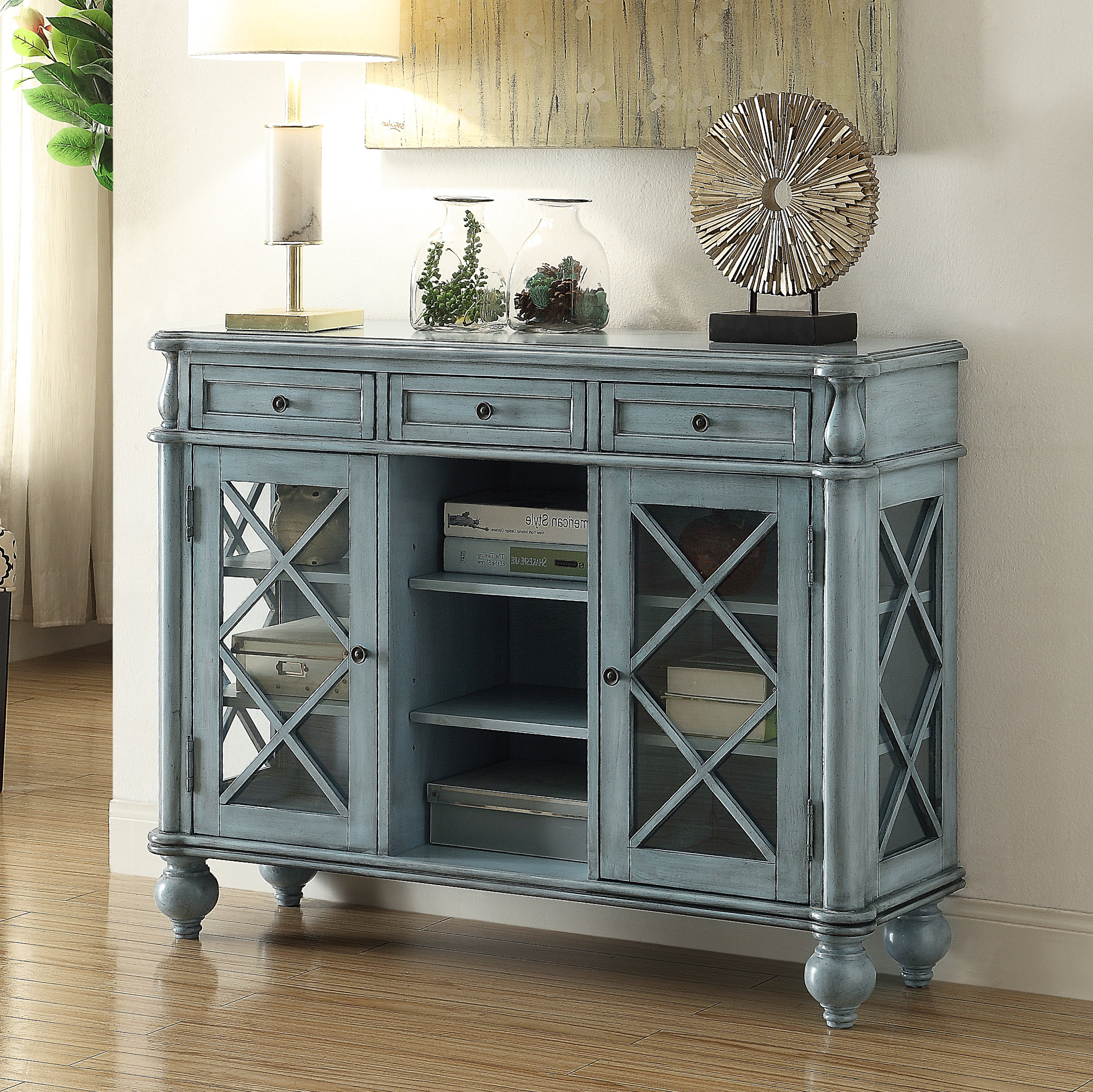 Farmhouse & Rustic August Grove Sideboards & Buffets | Birch In Etienne Sideboards (View 10 of 20)