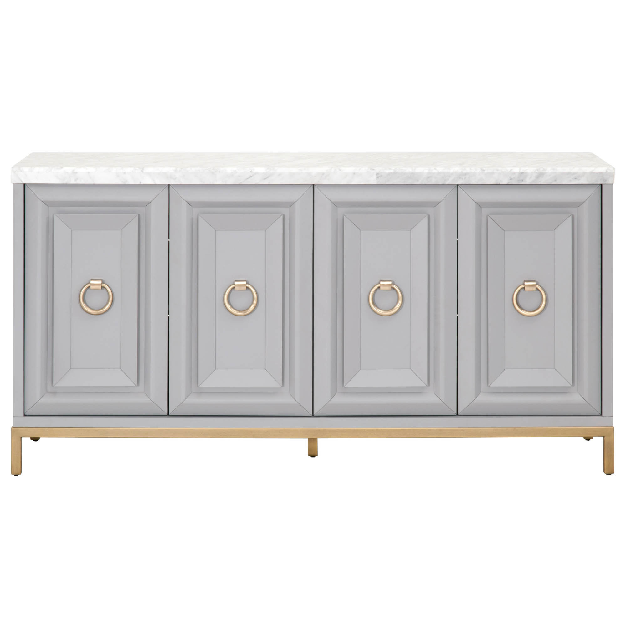 Farmhouse & Rustic Gold Sideboards & Buffets | Birch Lane With Velazco Sideboards (View 11 of 20)