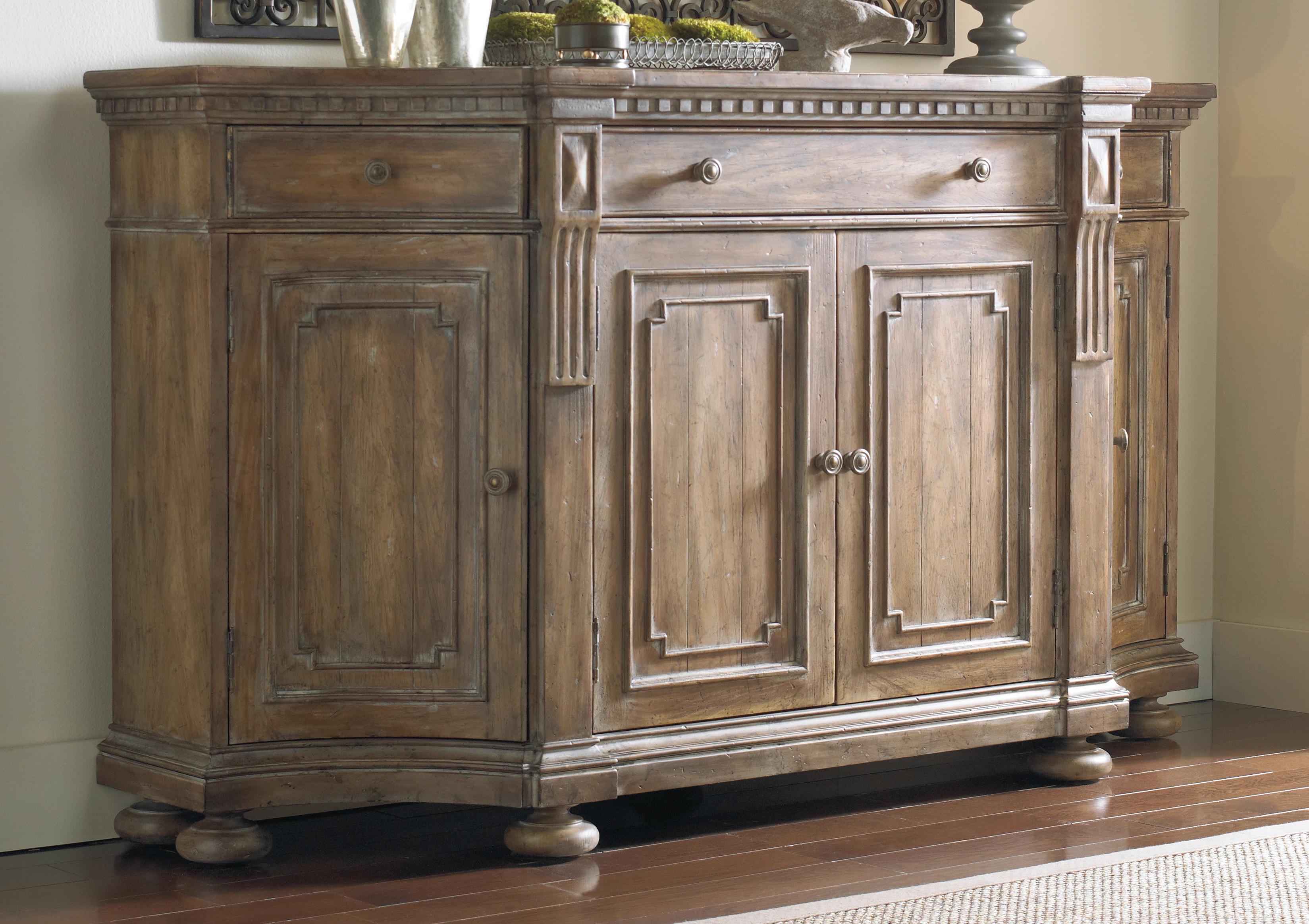 Farmhouse & Rustic Hooker Furniture Sideboards & Buffets For Melange Brockton Sideboards (View 5 of 20)
