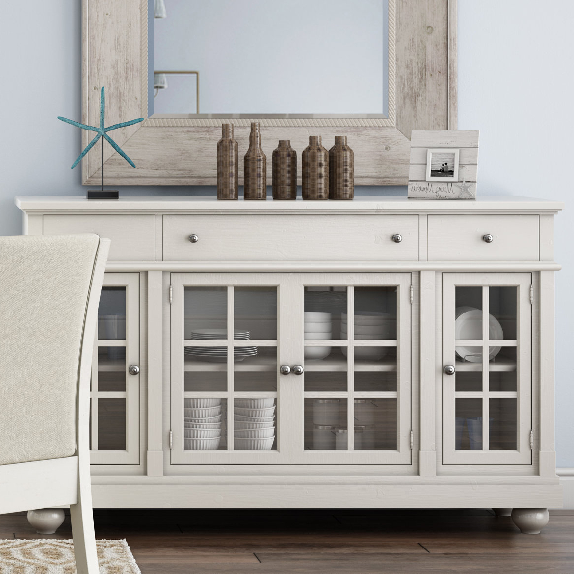 Farmhouse & Rustic Lark Manor Sideboards & Buffets | Birch Lane With Regard To Emmaline Sideboards (View 8 of 20)