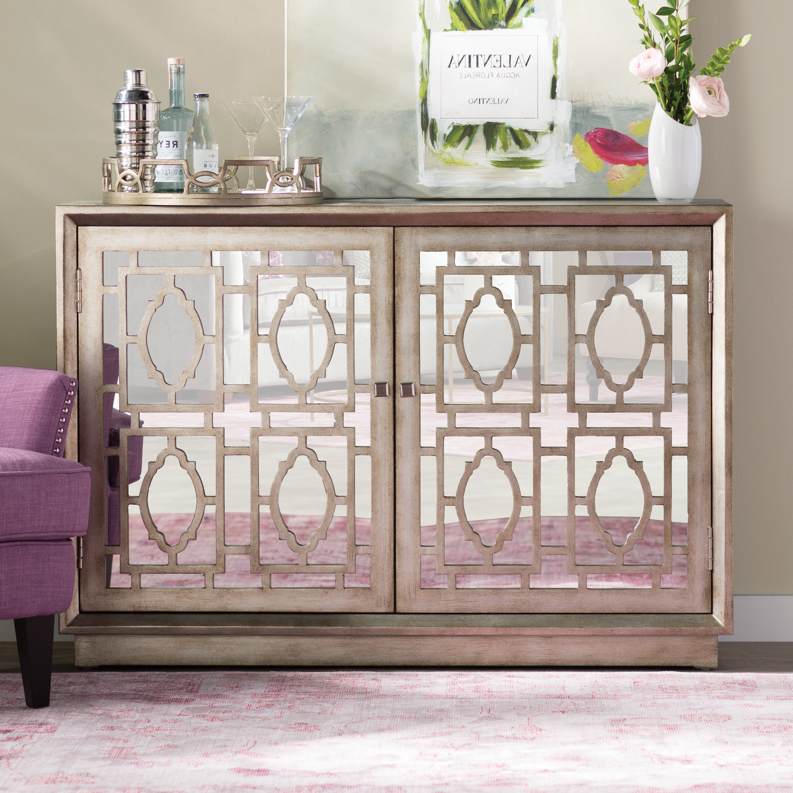 Farmhouse & Rustic One Allium Way Accent Chests & Cabinets For Fugate 2 Door Credenzas (View 5 of 20)