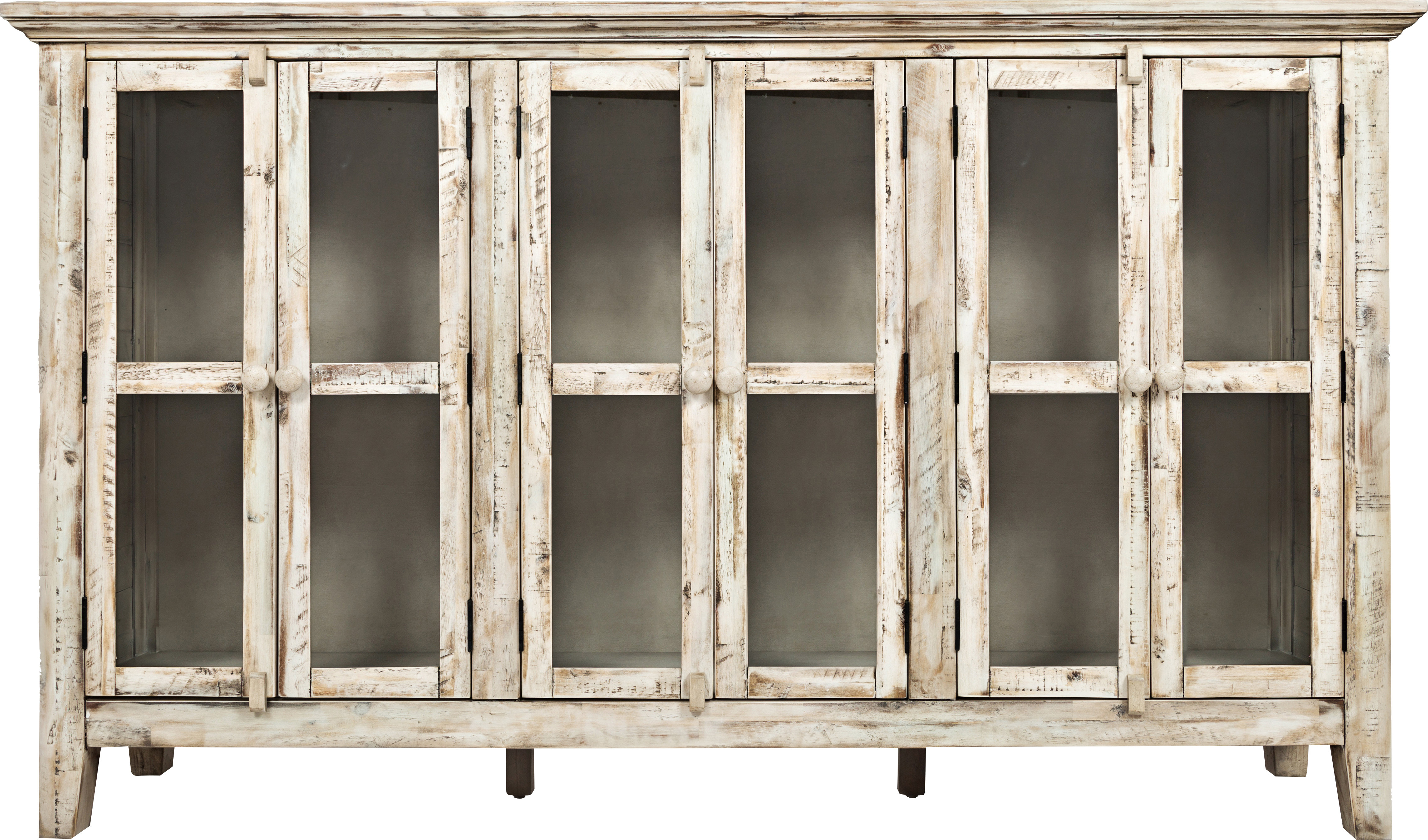 Farmhouse & Rustic Sideboards & Buffets | Birch Lane With Kattie 4 Door Cabinets (View 9 of 20)