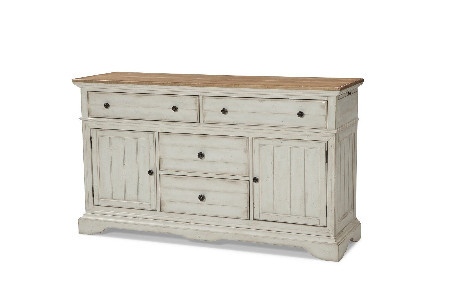 Farmhouse & Rustic Silverware Storage Equipped Sideboards Inside Payton Serving Sideboards (View 7 of 20)