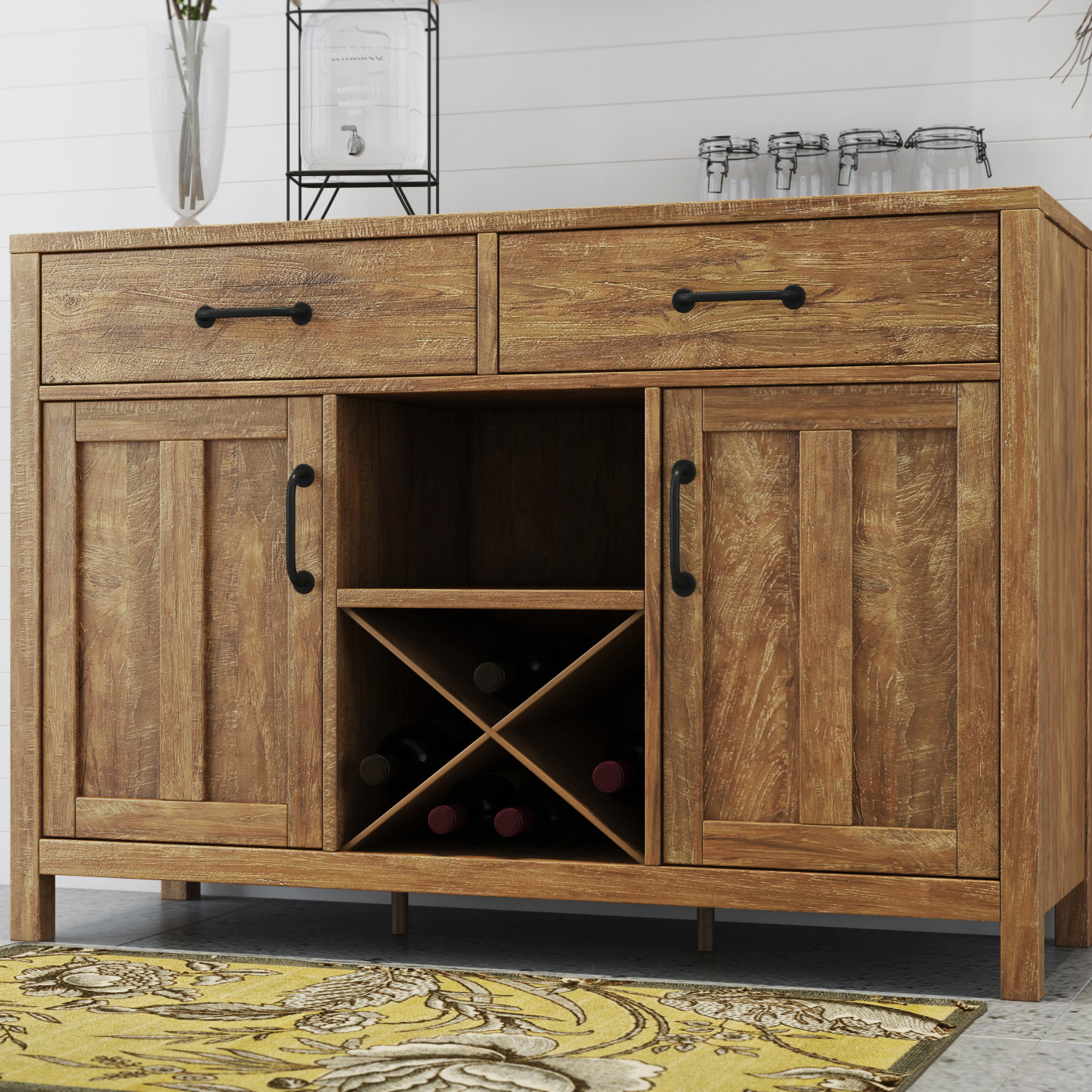 Farmhouse & Rustic Trent Austin Design Sideboards & Buffets Throughout Alegre Sideboards (View 2 of 20)