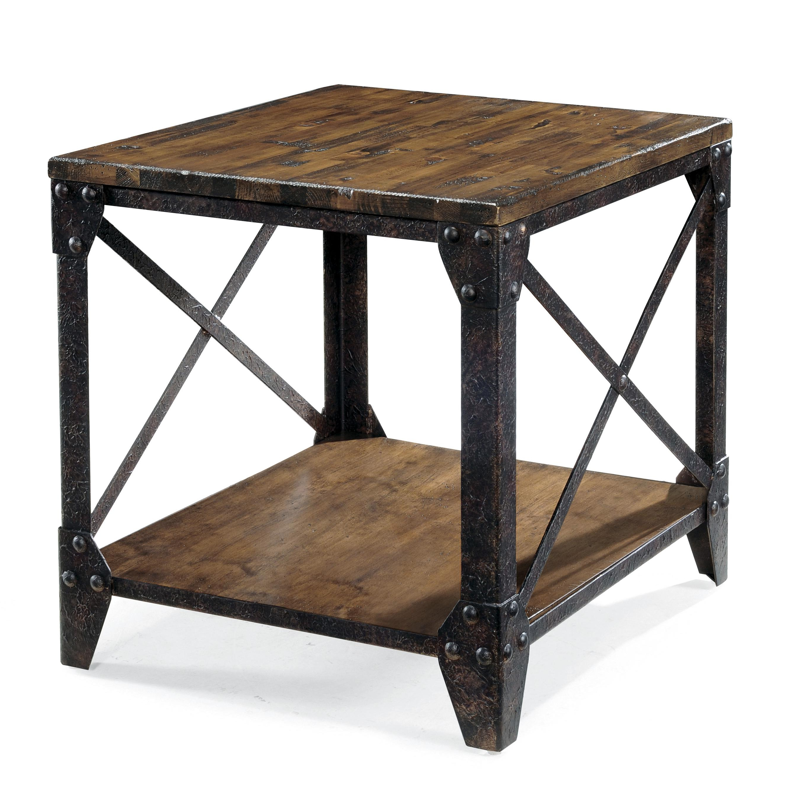 Fashionable Burnham Reclaimed Wood And Iron Round Coffee Tables Intended For Iron And Wood Furniture Iron And Wood Bedroom Furniture (View 12 of 20)
