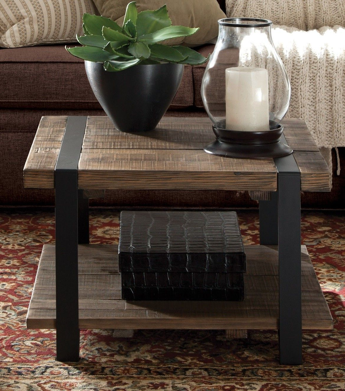 Fashionable Carbon Loft Lawrence Reclaimed Cube Coffee Tables Intended For Fallon Coffee Table (View 13 of 20)