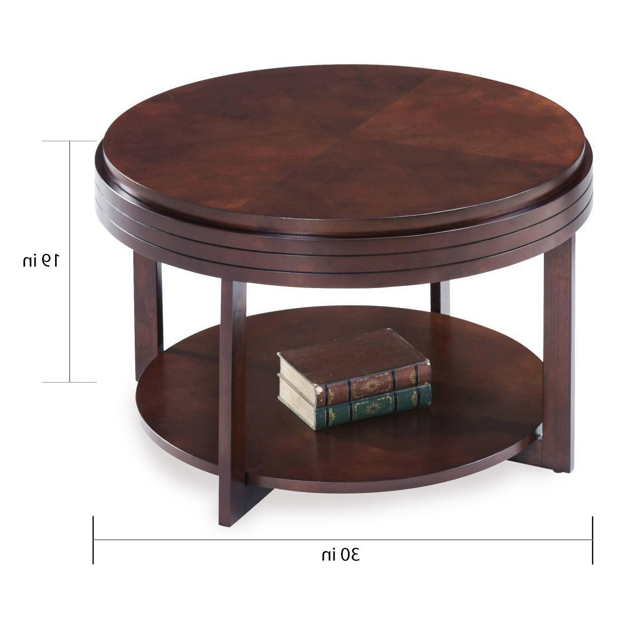 Fashionable Copper Grove Halesia Chocolate Bronze Round Coffee Tables Inside Round Condo/ Apartment Coffee Table (View 16 of 20)