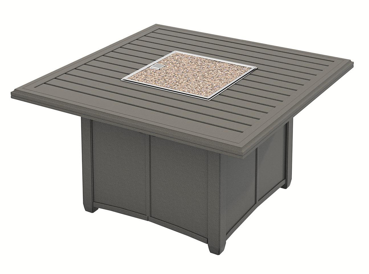 Fashionable Copper Grove Obsidian Black Tempered Glass Apartment Coffee Tables Within Banchetto Fire Pit Table (View 6 of 20)
