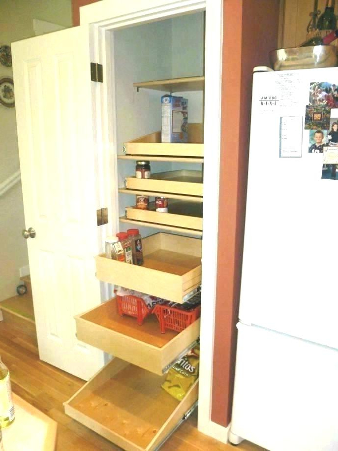 Fashionable Gillman Kitchen Pantry Intended For Rolling Kitchen Shelves – 4glove (View 10 of 20)