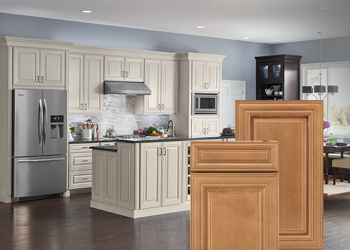 Fashionable Milford Kitchen Pantry Pertaining To Cabinet Styles, Designs & Collections (View 4 of 20)