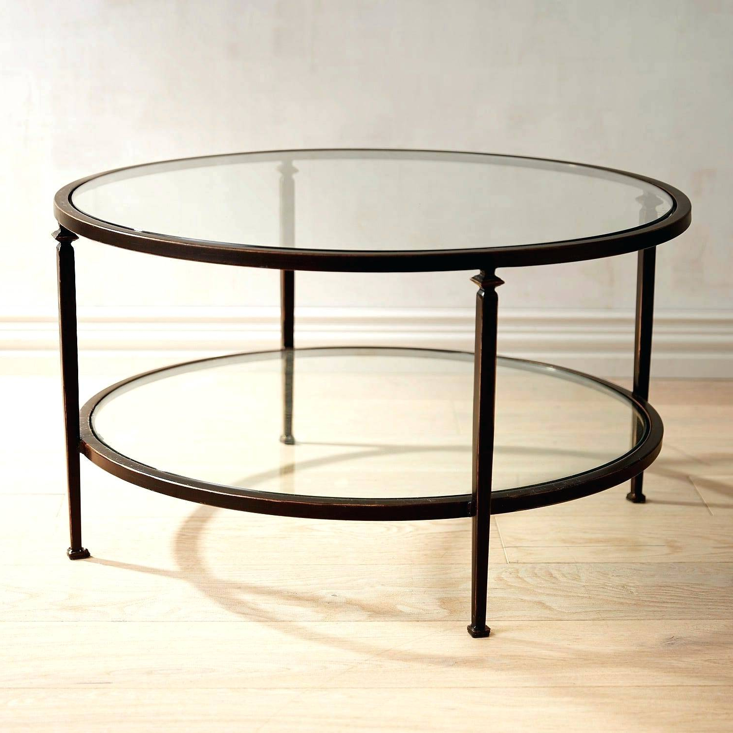 Fashionable Sawyer Industrial Reclaimed Rectangular Cocktail Tables Within Glass Coffee Table With Wheels – Petmemorials (View 16 of 20)