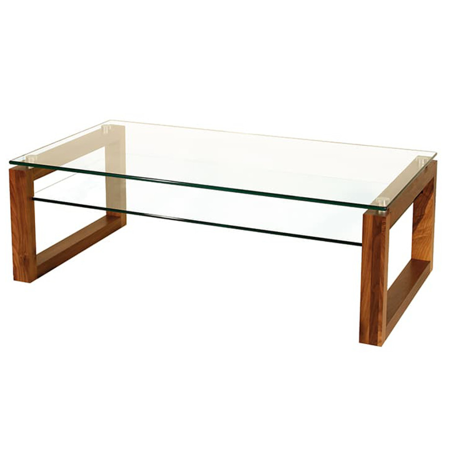 Fashionable Solid Hardwood Rectangle Mid Century Modern Coffee Tables Inside Bill Coffee Table – Prestige Solid Wood Furniture (View 7 of 20)
