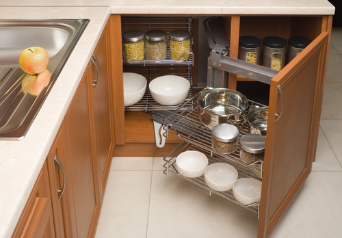 Favorite 4 Ways To Increase Kitchen Storage With Custom Cabinets In Ridenhour Kitchen Pantry (View 3 of 20)