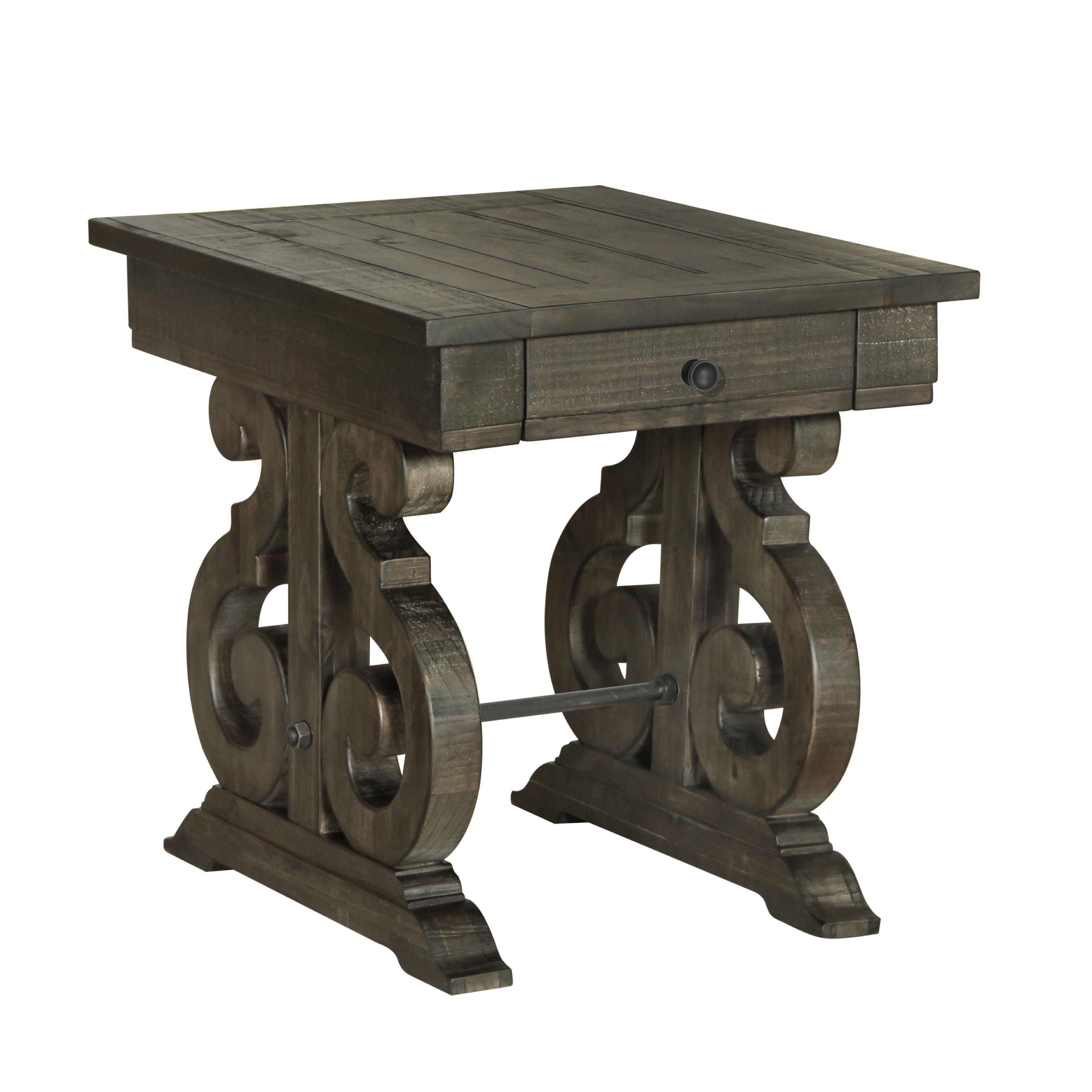 Favorite Bellamy Traditional Weathered Peppercorn Storage Coffee Tables In Pin On Products (View 3 of 20)