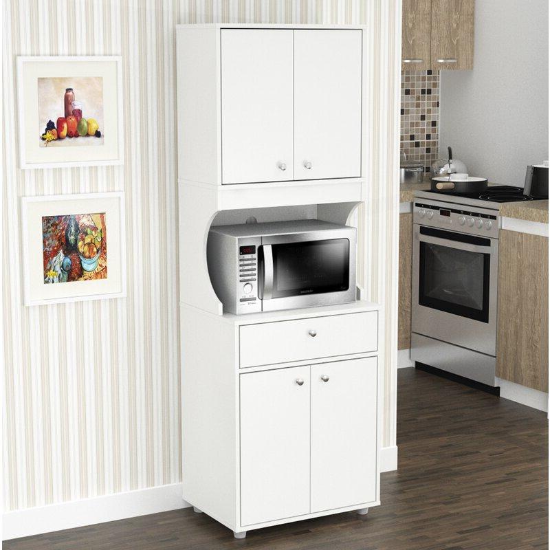 "Favorite Elliana Storage 71"" Kitchen Pantry For Maeda Kitchen Pantry (View 3 of 20)"