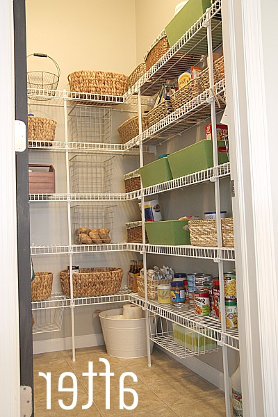 Favorite New Wire Pantry Shelving Organizing The Quick Fix For Shelf In Uli Kitchen Pantry (View 8 of 20)