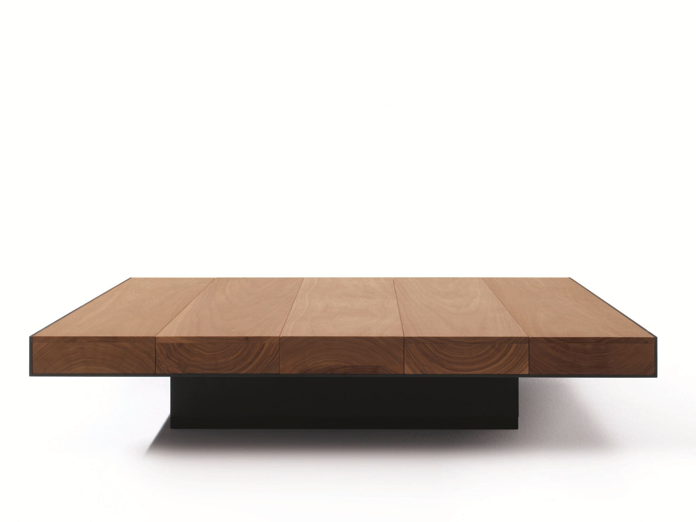 Favorite Solid Hardwood Rectangle Mid Century Modern Coffee Tables Intended For Low Square Solid Wood Coffee Table Decklema Design (View 2 of 20)
