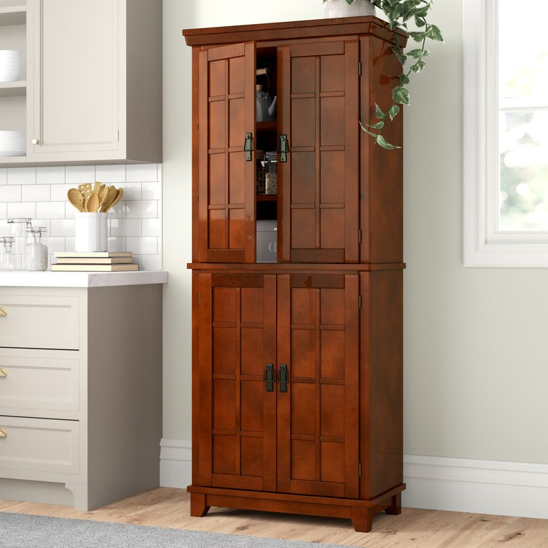 """Ferryhill 73"""" Kitchen Pantry With Popular Ferryhill Kitchen Pantry (View 2 of 20)"""