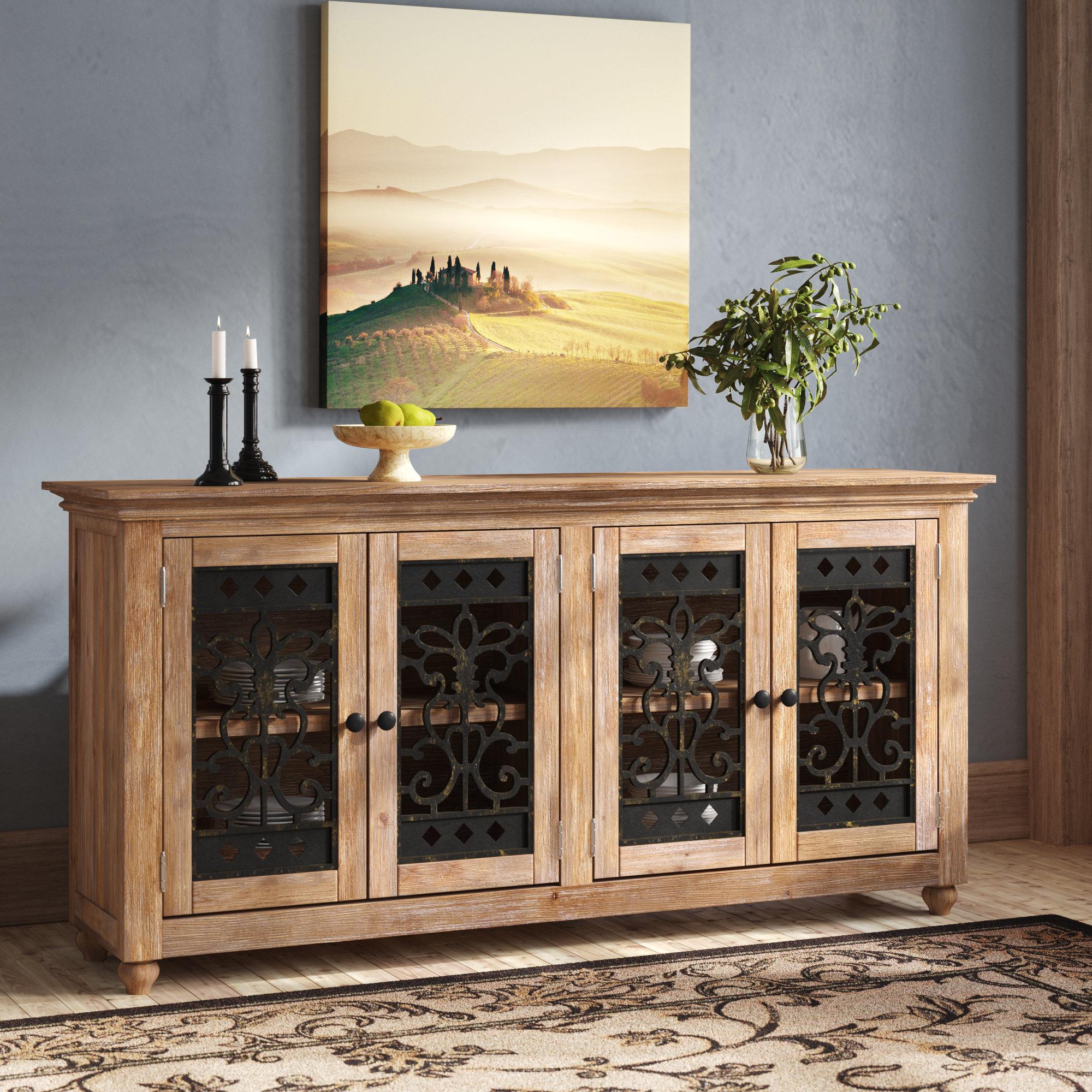 Fleur De Lis Living Basco Buffet Table & Reviews | Wayfair Pertaining To Filkins Sideboards (View 10 of 20)