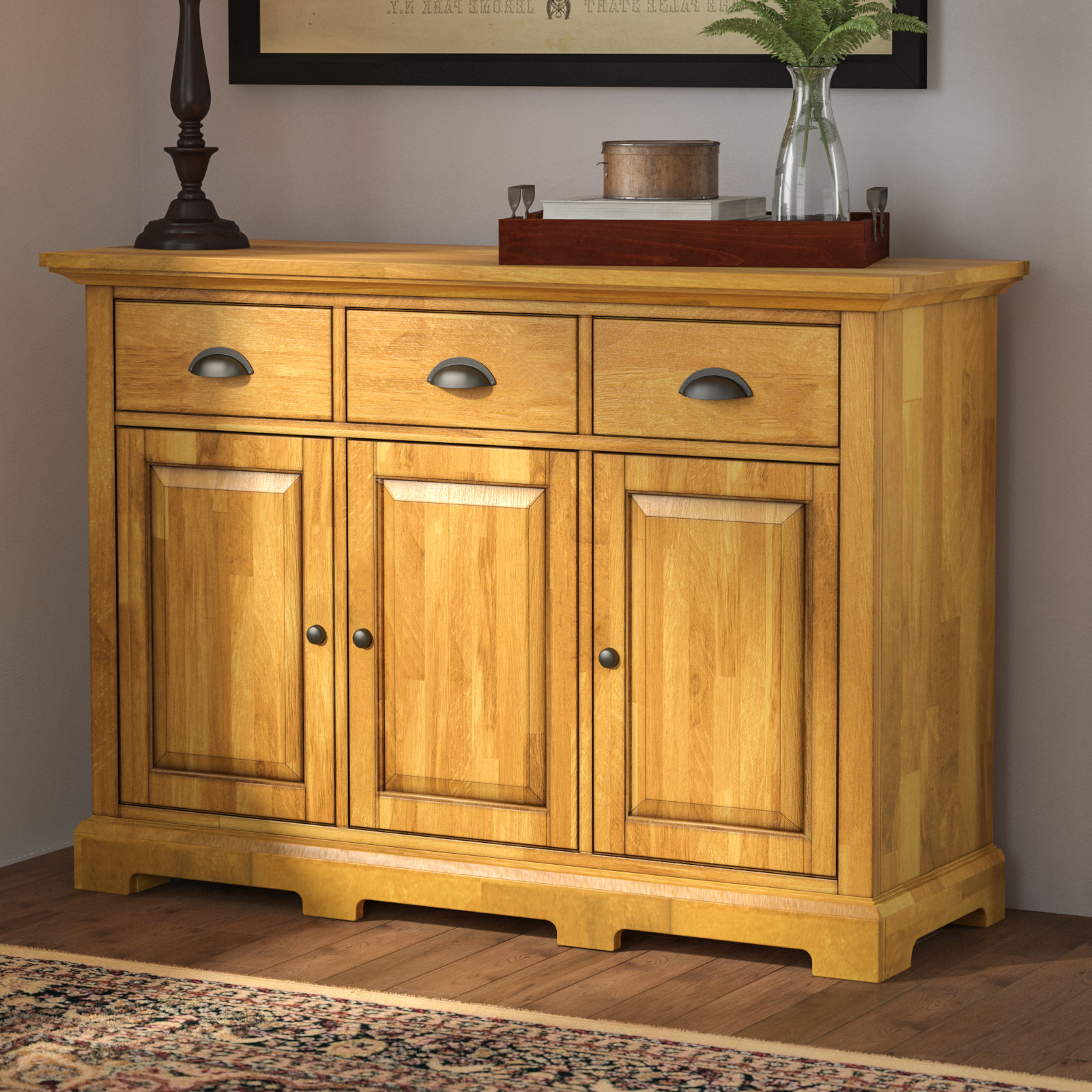 Fortville Sideboard For Ruskin Sideboards (View 7 of 20)