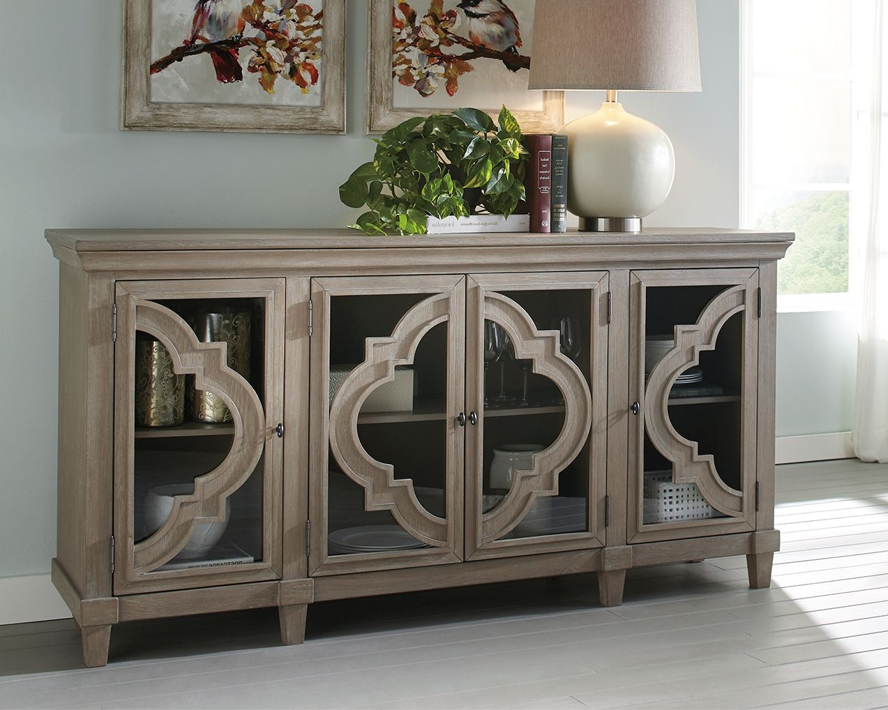 Fossil Ridge Accent Cabinet | Products In 2019 | Living Room With Regard To Raquette Sideboards (View 10 of 20)