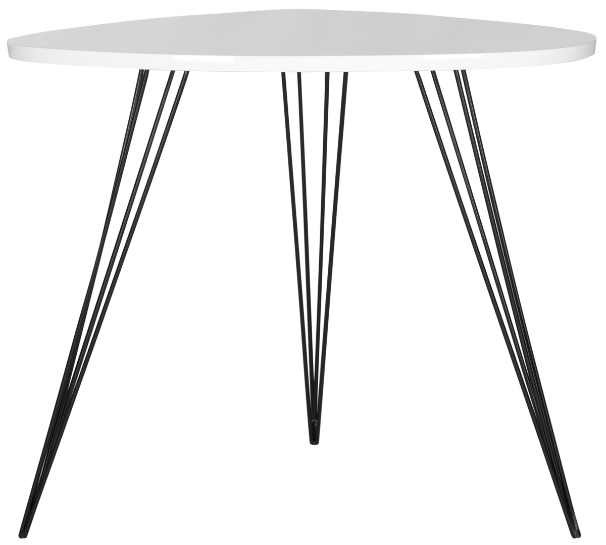 Fox4214b Accent Tables – Furnituresafavieh For Most Recent Safavieh Mid Century Wynton White Black Lacquer Modern Coffee Tables (View 8 of 20)