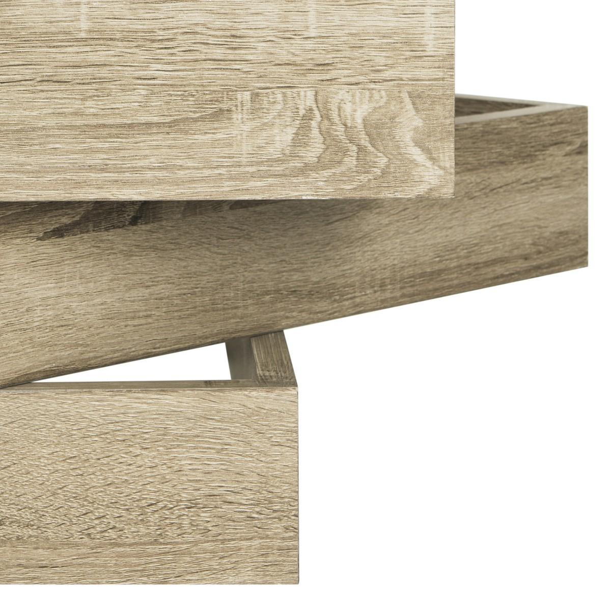 Fox4250a Coffee Tables – Furnituresafavieh Throughout Fashionable Safavieh Anwen Geometric Wood Coffee Tables (View 9 of 20)