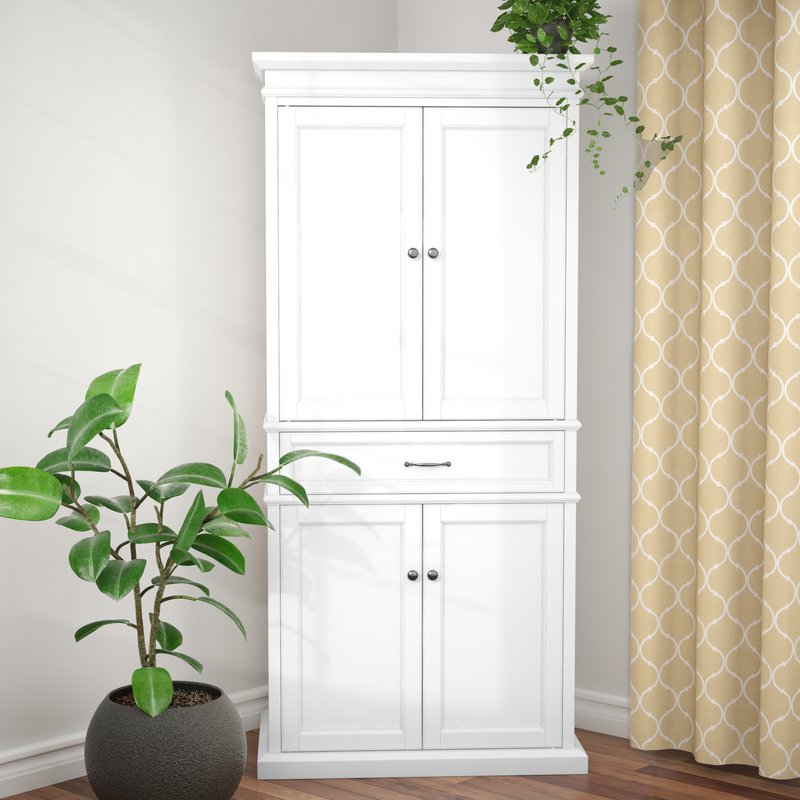 """Garlock 72"""" Kitchen Pantry Intended For 2020 Hedon Kitchen Pantry (Gallery 11 of 20)"""