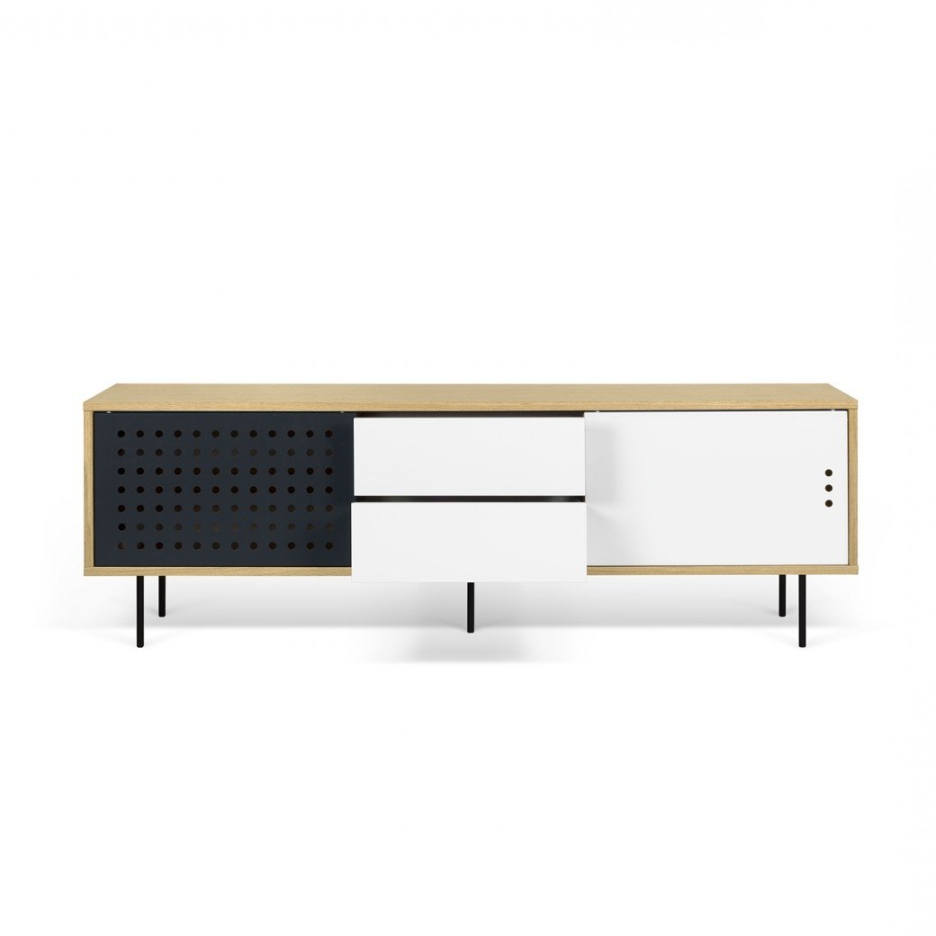 Garry Modern Stripes Sideboard Throughout Dovray Sideboards (View 14 of 20)