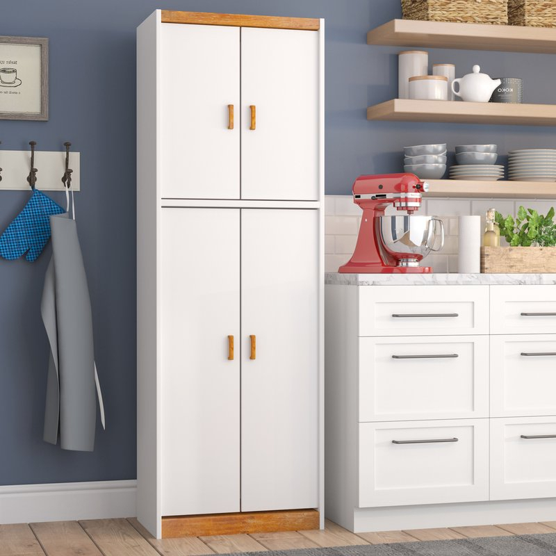"Gerania Kitchen Pantry In Preferred Garretson 72"" Kitchen Pantry (Gallery 11 of 20)"